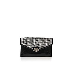 Nine West - Black 'Rocklock' clutch bag