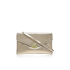 Nine West - Gold 'Rocklock clutch' bag