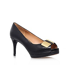 Nine West - Black 'Cora' high heel court shoe