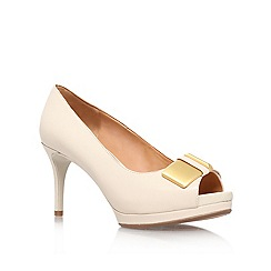 Nine West - Nude 'Cora' high heel court shoe