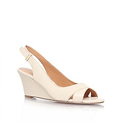 Nine West - Nude 'Perceive' Wedge Courts
