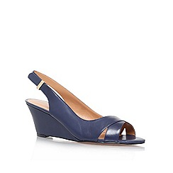 Nine West - Navy 'Perceive' Wedge Courts