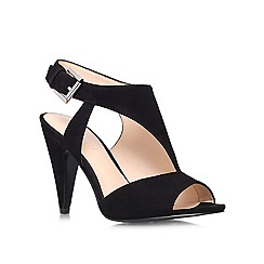 Nine West - Black 'Shapeup' high heeled courts