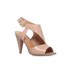 Nine West - Nude 'Shapeup' high heeled sandal