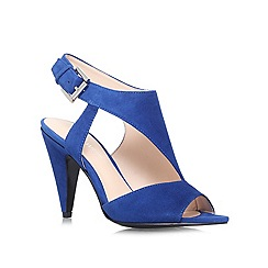 Nine West - Blue 'SHAPEUP' High heeled sandal