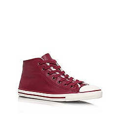 Converse - Wine 'CT Dainty Lea' Lace up