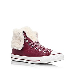 Converse - Wine 'CT Lea She' Lace up Trainer