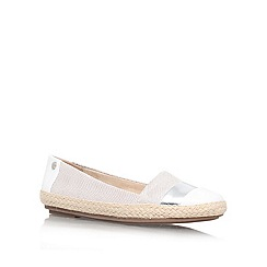 Anne Klein - White 'Saleem6' flat slip on