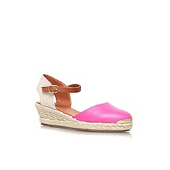 Miss KG - Fushia 'Lea' low wedge sandal
