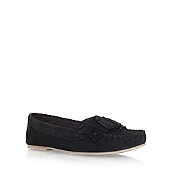 Miss KG - Black 'Nixon' flat loafers