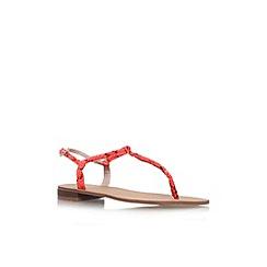 Carvela - Pink 'Barbados' flat embellished sandal