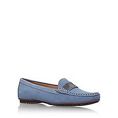 Carvela Comfort - Blue 'claudia' flat slip on loafer