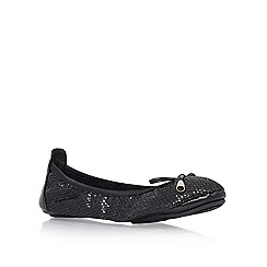 Miss KG - Black 'Mia' Flat Shoe
