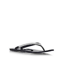 Carvela - Black 'Skippy' flat sandals