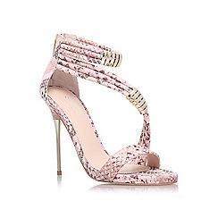 Carvela - Pale pink 'Glisten' high heel sandal