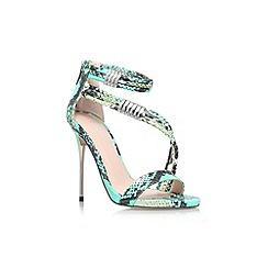 Carvela - Turquoise 'Glisten' high heel sandal