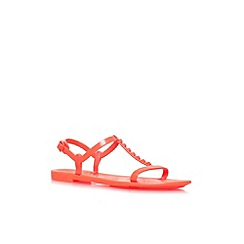 Carvela - Orange 'Sam' flat sandals