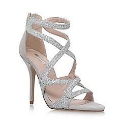 Carvela - Grey 'Grove' high heel sandals