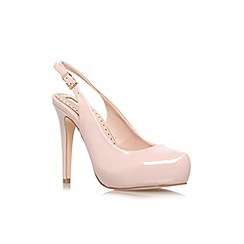 Miss KG - Nude 'Anita' high heel court shoe