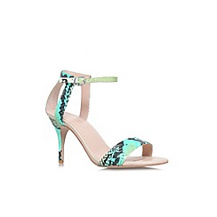 Carvela - Turquoise 'Kollude' mid heel sandal