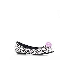 Miss KG - Pink comb 'Mint' flat ballerina pump
