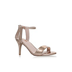 Carvela - Metal 'Kollude' high heel sandals