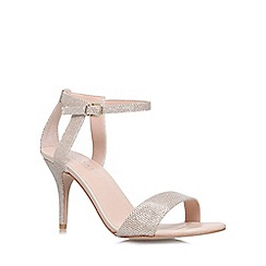 Carvela - Gold 'Kollude' high heel sandal