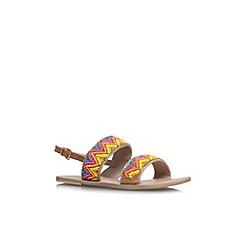 Miss KG - Mult/other 'Roxanne' flat sandal