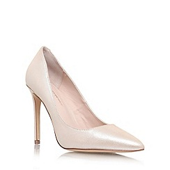 KG Kurt Geiger - Natural 'bailey' high heel court shoes