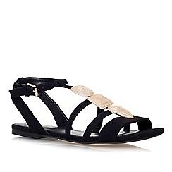 Miss KG - Black 'Rea' flat sandal