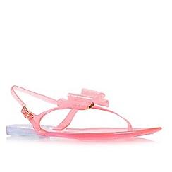 Miss KG - Pink 'Darla' flat sandal