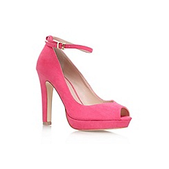 Miss KG - Pink 'Anete' high heel court shoe