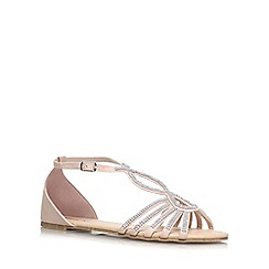 Miss KG - Nude 'Rada' flat sandal
