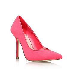 Miss KG - Pink 'Adara' high heel court shoe