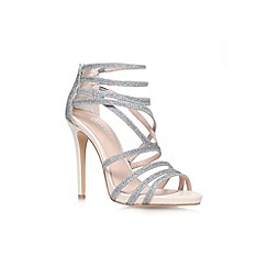 Carvela - Silver 'Gismo' court shoe