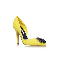 Miss KG - Lime 'Evelyn' high heel court shoe
