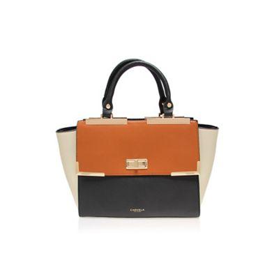 Carvela Black and comb ´Dakota´ lock shoulder bag - . -