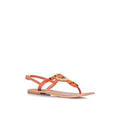 Carvela - Orange 'Kouros' flat sandal