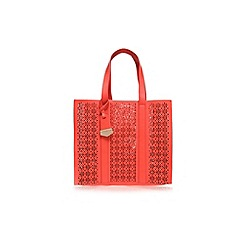 Carvela - Orange 'Danielle Tote Cut Out' Bag