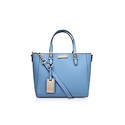Carvela - Blue 'Danna' winged tote bag