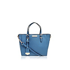 Carvela - Teal 'Danna' winged tote handbag