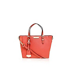 Carvela - Peach 'Danna' mini winged tote