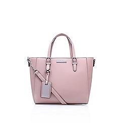 Carvela - Pink 'Danna Winged Tote' handbag with shoulder straps