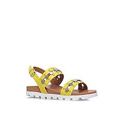 Miss KG - Lime 'Dena' flat platform sandal
