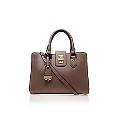 Carvela - Taupe 'Daria Lock Shoulder Bag' Large bag