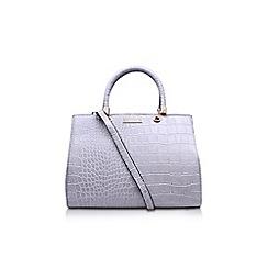 Carvela - Grey 'Darla' structured tote handbag