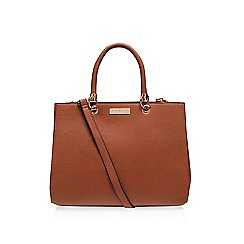 Carvela - Tan 'Darla' structured tote handbag