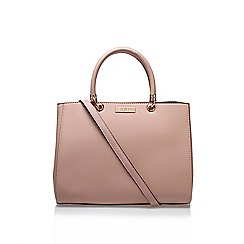 Carvela - Pink 'Darla Structured' tote bag with shoulder straps