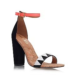 Miss KG - Black/ other 'Faye' high heel sandal