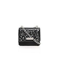 Carvela - Black 'daya flower cut out xbody' small bag